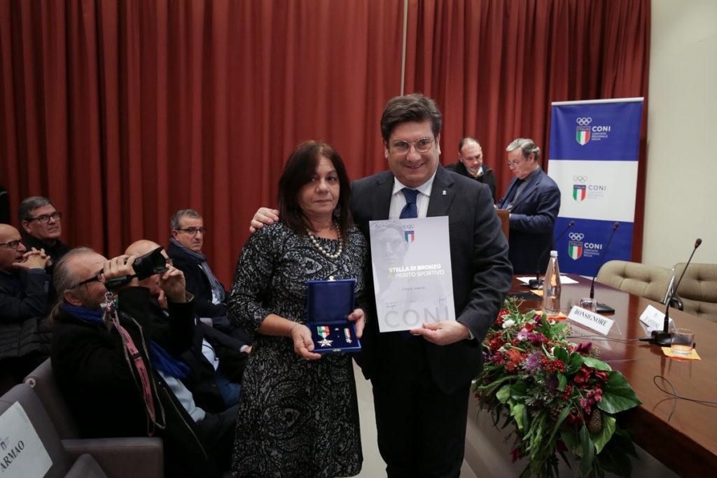 Cinzia Valenti LUDOS Stella di Bronzo CONI